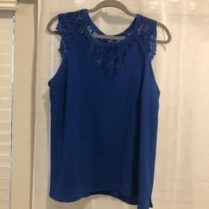 So sexy lace detail top!